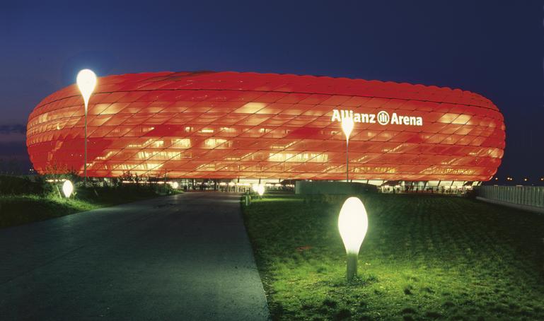Fussball Arena Spezial Hotel Lechnerhof München Allianz Arena